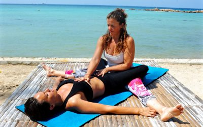 Tantric and abdominal massage and yoga retreat